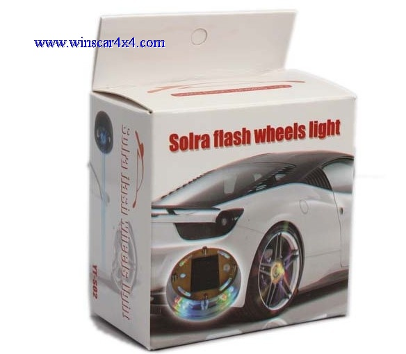Solar Flash Wheels Light